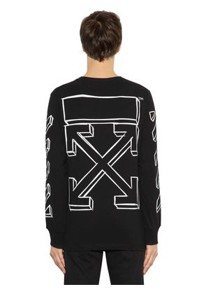 MARKER ARROWS JERSEY LONG SLEEVE T-SHIRT
