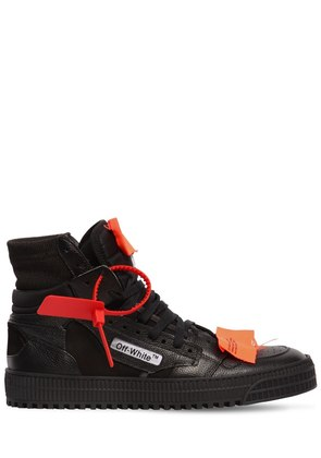 LOW 3.0 LEATHER HIGH TOP SNEAKERS