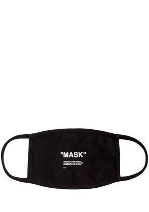 'MASK' PRINTED COTTON MASK