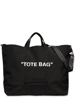 'TOTE BAG' TECH CANVAS TOTE BAG