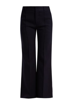 City tailored cotton trousers