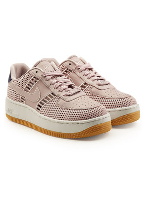 Nike Air Force 1 Upstep Sneakers with Leather and Suede