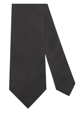 Gucci Bee embroidered tie - Black