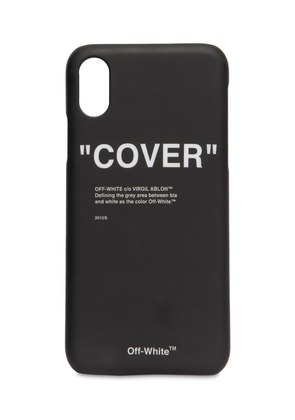 'COVER' IPHONE X CASE