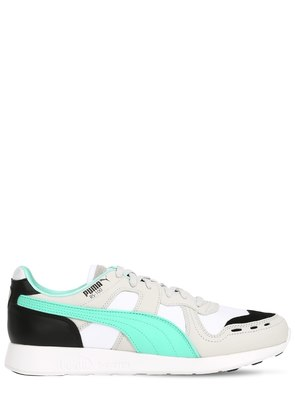 RS-100 FUTRO LEATHER & MESH SNEAKERS