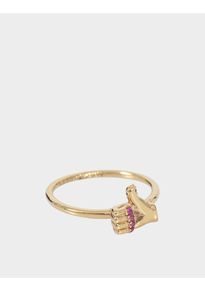 Marc Jacobs Thumbs Up Ring
