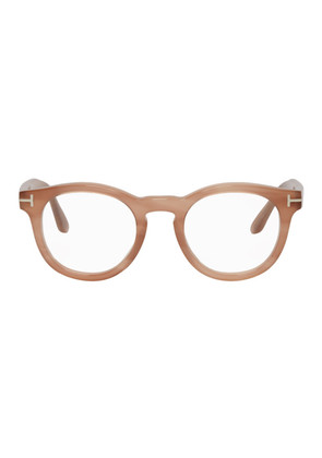 Tom Ford Pink Round Glasses