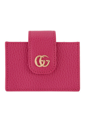 Gucci Pink Small Marmont Card Holder