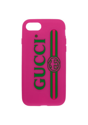 Gucci Pink Vintage Logo iPhone 7 Case