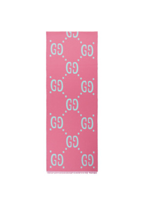 Gucci Pink GG Freedom Scarf
