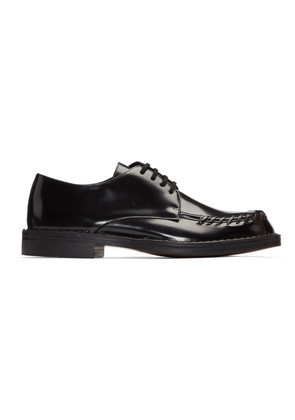 Marni Black Whipstitch Derbys