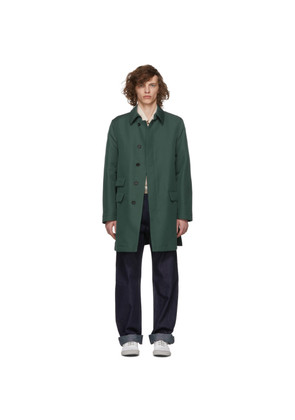 Marni Green Duster Coat