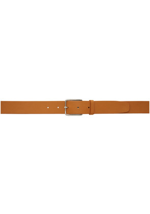 Jil Sander Brown Classic Leather Belt