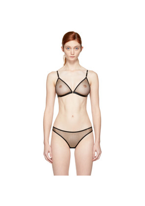 Cheap Good Selling Shipping Outlet Store Online Beige Mathilde Micro Star Bra Le Petit Trou HqCwYem