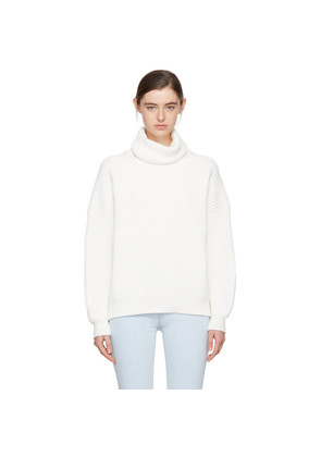 Acne Studios Off-White Piphy Chunky Turtleneck