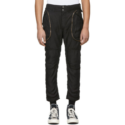 Pants for Men On Sale, Kappa By Faith Connexion, Black, Cotton, 2017, L M S XS Faith Connexion