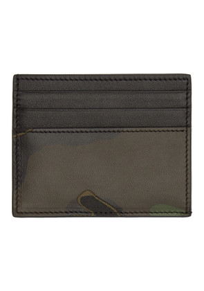 Valentino Green Valentino Garavani Camo Card Holder