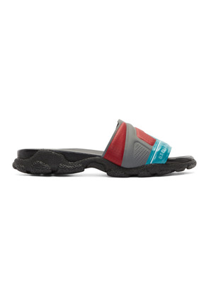 Stella McCartney Multicolor High Frequency Slides
