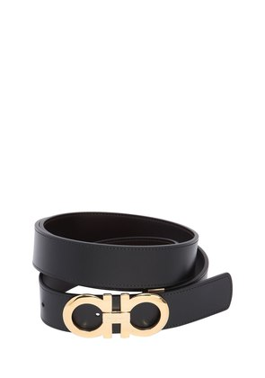 35MM PALOMA REVERSIBLE LEATHER BELT