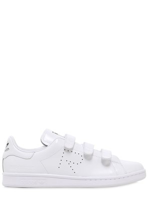 STAN SMITH LEATHER STRAP SNEAKERS