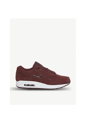 Air Max 1 Jewel suede trainers