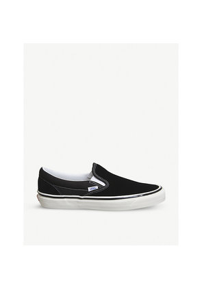 Classic 98 DX slip-on canvas trainers