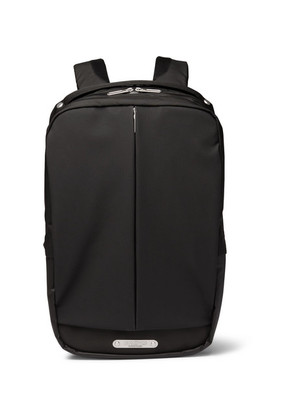Brooks England - Sparkhill Shell, Coated-nylon And Cordura Backpack - Black