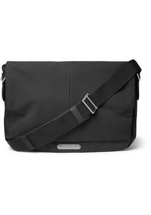 Brooks England - Strand Coated-nylon And Cordura Messenger Bag - Black
