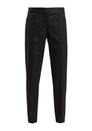 Vivian tapered-leg wool trousers
