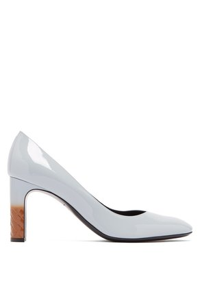 Isabella 80 patent leather pump