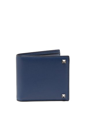 Rockstud-embellished leather wallet
