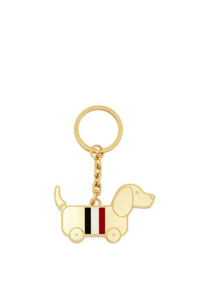 Hector Toy enamelled brass keyring