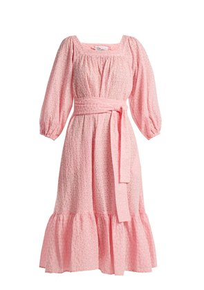 Laure broderie-anglaise cotton dress