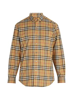 House Check cotton shirt