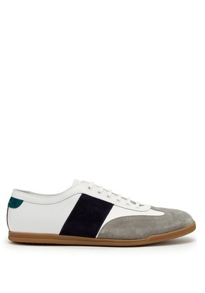 Holzer low-top leather trainers