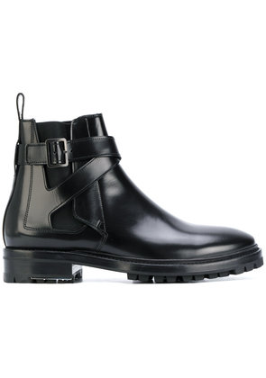 Lanvin buckled Chelsea boots - Black