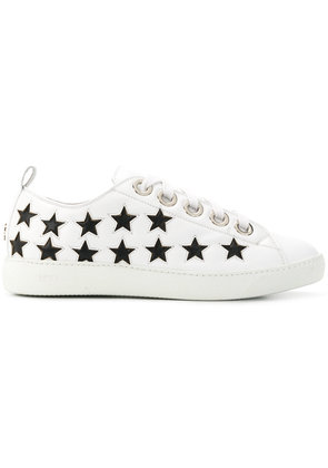 No21 star embellished sneakers - White