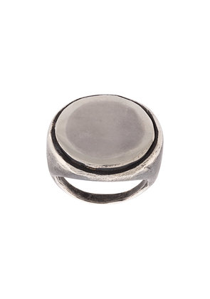 Detaj coin finger ring - Metallic
