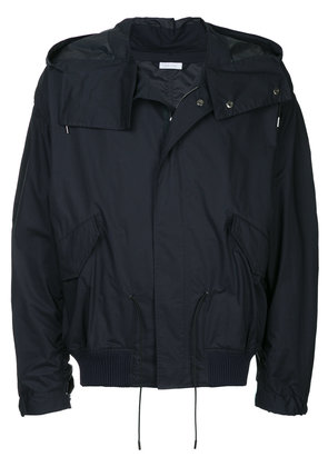 Jil Sander hooded functional jacket - Blue