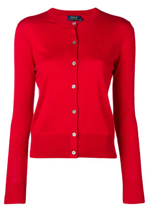 Polo Ralph Lauren buttoned up cardigan - Red