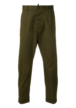 Dsquared2 cropped trousers - Green
