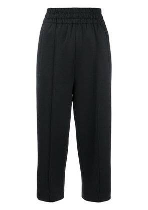Marc Jacobs contrast stripes track trousers - Black