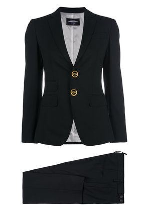 Dsquared2 button-embellished suit - Black