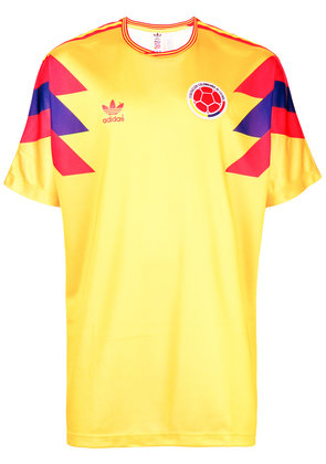 Adidas Colombia Football T-shirt - Yellow & Orange
