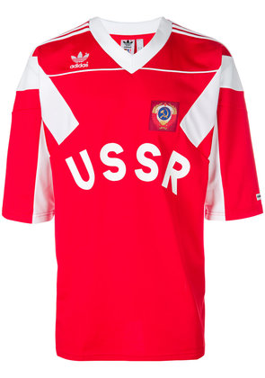 Adidas Russia jersey football top - Red