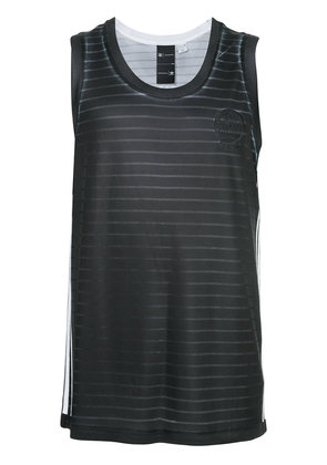 Adidas sleeveless back logo T-shirt - Black
