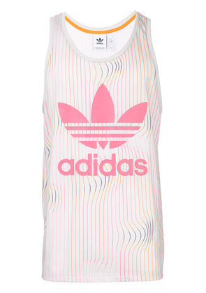Adidas logo tank top - Pink & Purple