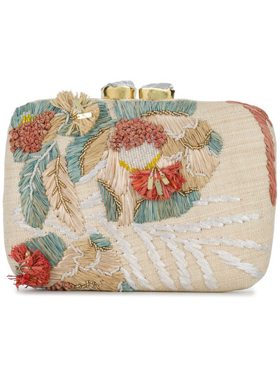 Choice Cheap Online Cheap Price Wholesale Price Aranaz Marina straw clutch bag Cheap Fast Delivery Cheap Newest FKAt6cX
