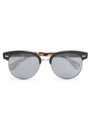 Oliver Peoples Woman Round-frame Acetate Sunglasses Burgundy Size Oliver Peoples PSnLHMTrW4
