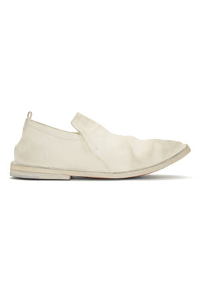 Marsèll White Tost Loafers